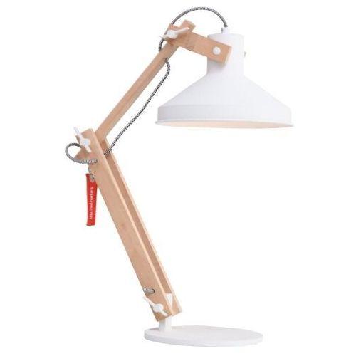 Steinhauer woody lampa stołowa biały, 1-punktowy - lokum dla młodych - obszar wewnętrzny - woody - czas dostawy: od 10-14 dni roboczych