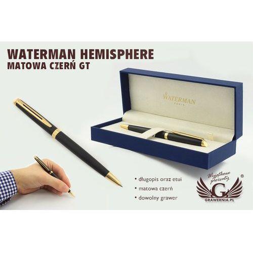 Długopis WATERMAN HEMISPHERE - czerń matowa GT