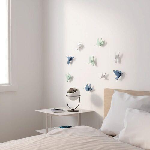 Umbra - dekoracja ścienna hummingbird, 9 szt., multikolor