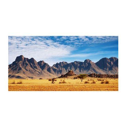 Foto obraz szkło akryl Skały w Namibii