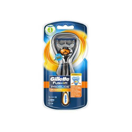 Gillette flexball fusion proglide power maszynka do golenia + 1 wkład + 1 bateria