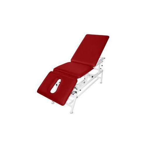 Stół rehabilitacyjny 3-cz. elektryczny (z funkcją fotela) master 3e-f marki Sumer