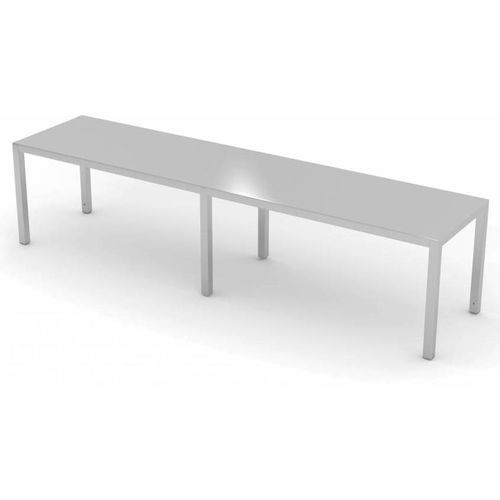 Polgast Nadstawka na stół jednopoziomowa | szer: 1500-1900 mm | gł: 300 mm