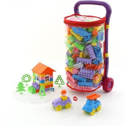 Taczka Caddie + Klocki Budowniczy 160 elementów