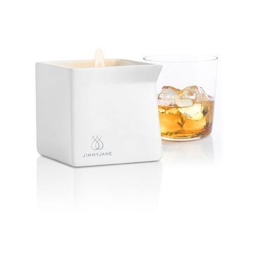 Sexshop - świeca zapachowa z olejkiem do masażu - rozgrzewający burbon -  bourbon - online od producenta Jimmyjane