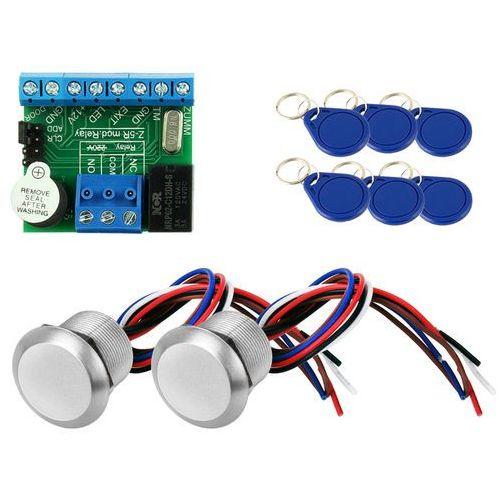 Czytnik pastylek breloków z kontrolerem przejścia kontrola dostępu 2xCP-Z2L Z5R_Relay (125Khz), ZK12598