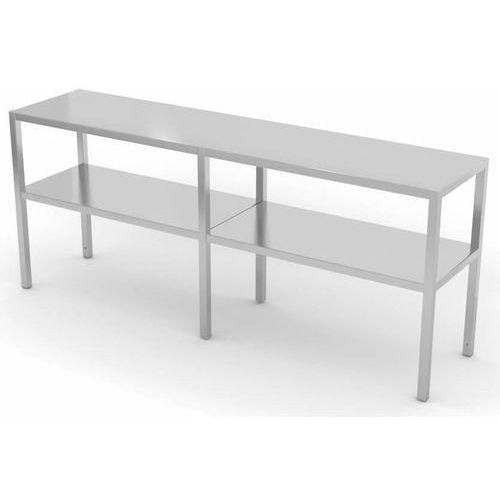 Nadstawka na stół dwupoziomowa   szer: 1500-1900 mm   gł: 400 mm marki Polgast