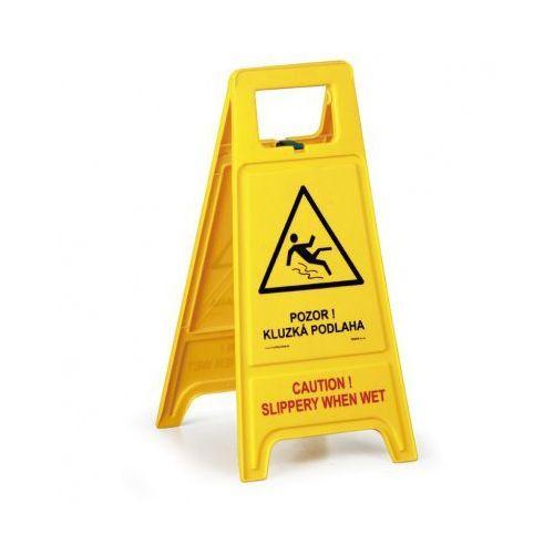 Stojak ostrzegawczy - Uwaga! Śliska podłoga CZ