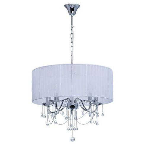 Okrągła, duża lampa wisząca z kryształkami MW-LIGHT Elegance (454010705)