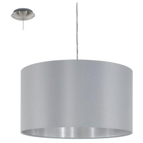 lampa wisząca MASERLO szara - 38 cm, EGLO 31601