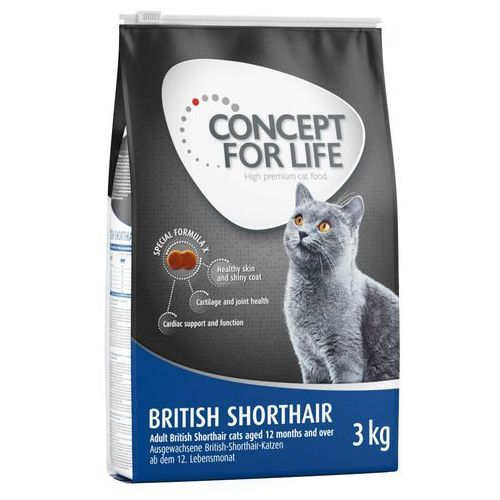 british shorthair adult - 9 kg marki Concept for life