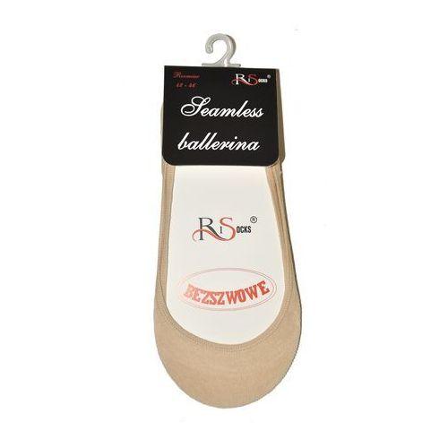 Baletki Risocks Ballerina Bezszwowe Art.5692235 ROZMIAR: 42-46, KOLOR: czarny/nero, RiSocks, 522353602