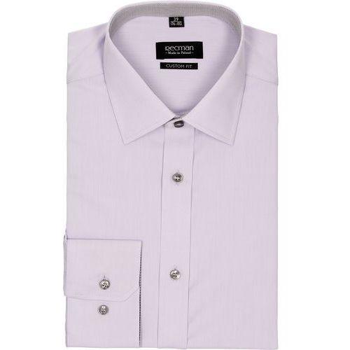 7279c25b72b28b Koszule męskie · Koszula bexley 2523 długi rękaw custom fit fiolet marki  Recman