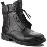 Kozaki PEPE JEANS - Tom Cut Boot PMS50162 Black 999, kolor czarny