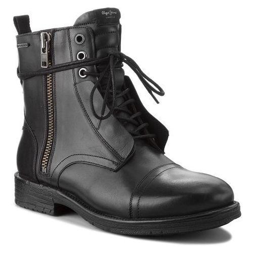 Kozaki - tom cut boot pms50162 black 999 marki Pepe jeans
