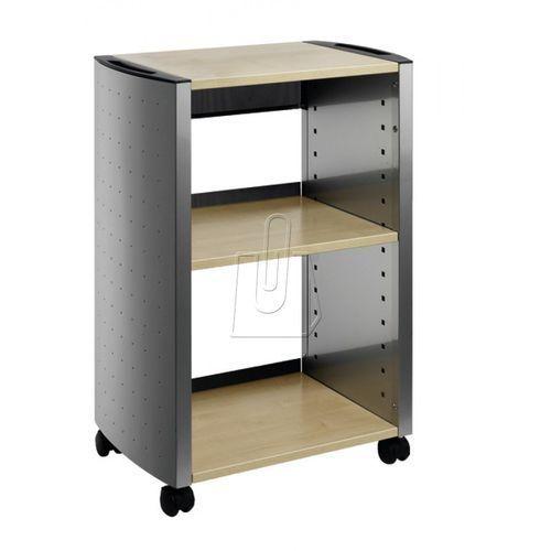 Stolik biurowy Durable Design Line 3103-120 srebrny/klon (8710968470594)