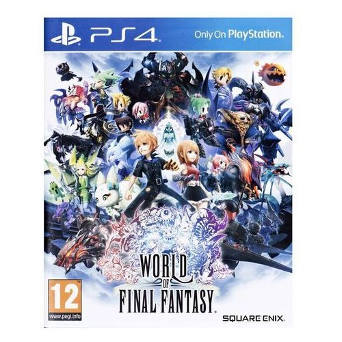 OKAZJA - World of Final Fantasy (PS4)