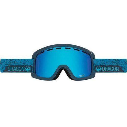 gogle snowboardowe DRAGON - D1 - Stone Blue/Blue Steel + Yellow Red Ion (661)