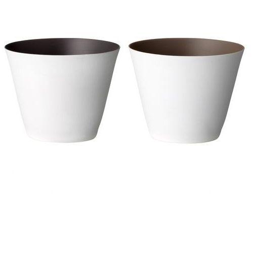 Świecznik porcelanowy - Bloomingville jasny brązowy