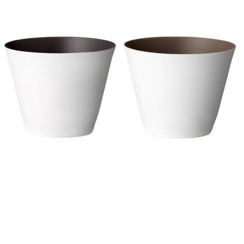 Świecznik porcelanowy - brązowy marki Bloomingville