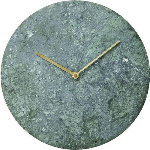 Zegar ścienny zielony marmur norm (8200429) marki Menu