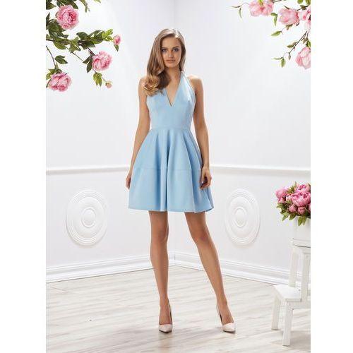 Sukienka lozanna w kolorze błękitnym marki Sugarfree.pl