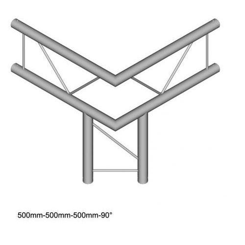 DuraTruss DT 22-C31V-LD element konstrukcji aluminiowej narożnik 90st + dół