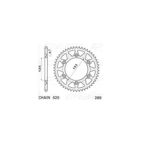 Jr Zębatka stalowa utwardzana 289 50 cr/crf 28950gu