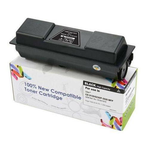 Toner cw-u5135n black do drukarek utax (zamiennik utax 613511010) [7.2k] marki Cartridge web