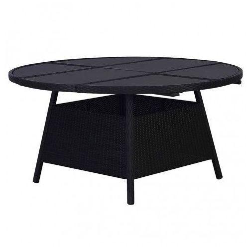 Elior Czarujący stół ogrodowy viza 2q - czarny