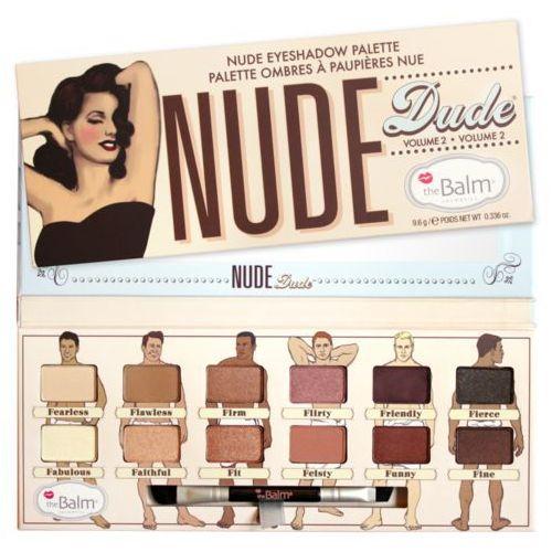 nude dude eyeshadow palette | paleta cieni do powiek 9,6g marki Thebalm