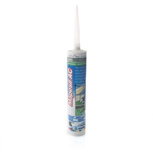 Mapei Silikon sanitarny mapesil ac 260 oliwkowy (8022452027727)