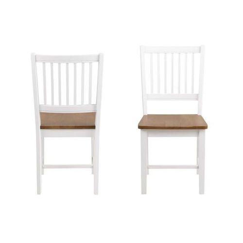 Krzesło Brisbane białe, 162246 (12062501)