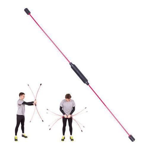 Insportline Drążek drgający do ćwiczeń i aerobiku flexi bar strong