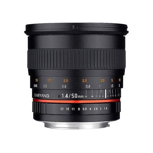 Samyang 50mm f/1,4 AS UMC (Sony E) - przyjmujemy używany sprzęt w rozliczeniu | RATY 20 x 0%
