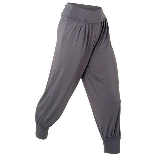 """Spodnie haremki """"wellness"""" bonprix szary"""