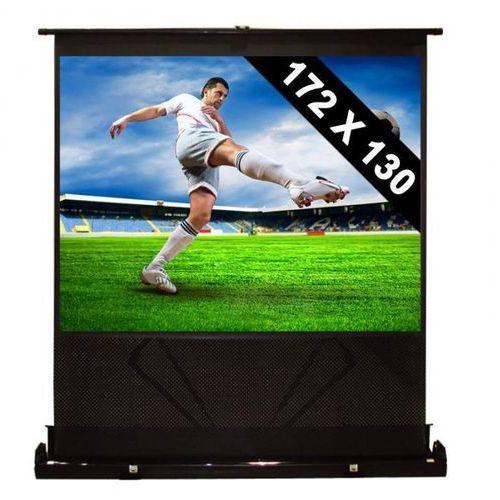 FrontStage Ekran podłogowy rozwijany 72x130cmkino domowe HDTV 218cm 4:3