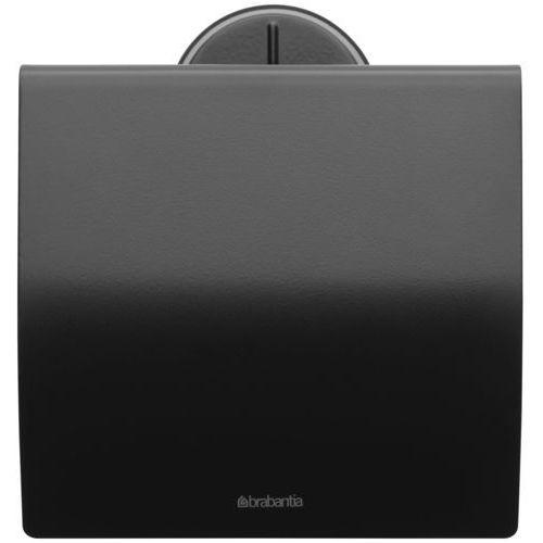 Uchwyt na papier toaletowy Profile czarny (8710755483400)