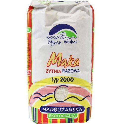 : mąka żytnia razowa typ 2000 bio - 1 kg marki Eko mega