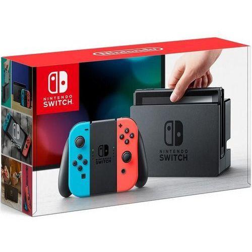 switch joy-con czerwono-niebieski marki Nintendo