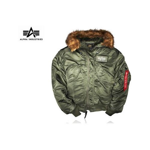 Kurtka Alpha Industries 45P Hooded sage green
