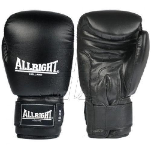 Rękawice bokserskie Allright PVC czarne z kategorii Rękawice do walki