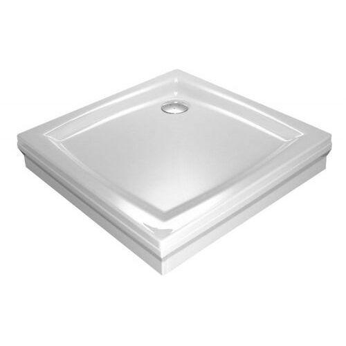 Ravak Perseus 90 SET L panel do rogu biały A827701010 (8595096812955)