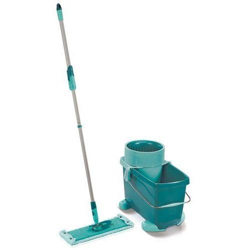 zestaw do czyszczenia podłóg clean twist, xl, zielony, 52049 marki Leifheit