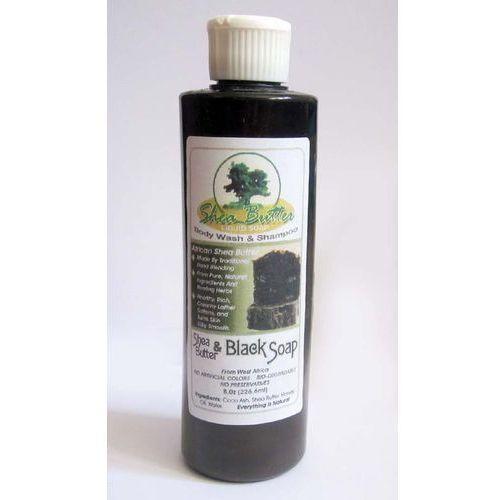 Liquid Shea Butter Black Soap - Ghana, M-S112. Najniższe ceny, najlepsze promocje w sklepach, opinie.