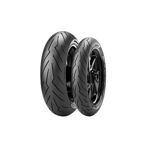 Pirelli Diablo Rosso III Rear ( 180/60 ZR17 TL (75W) M/C, tylne koło ) z kategorii Opony motocyklowe