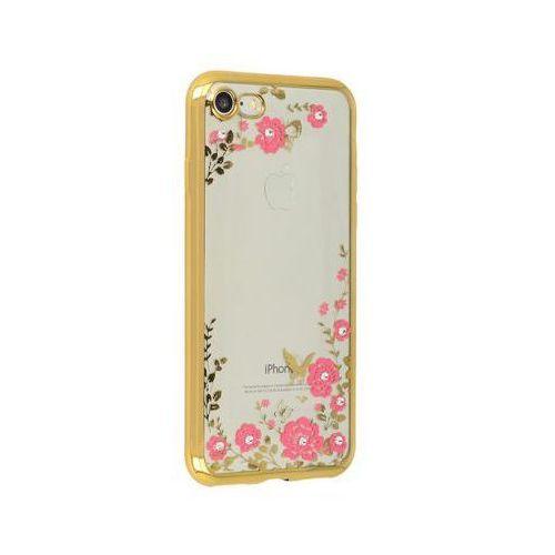 Futerał Back Case FLOWER Xaiomi Redmi Note 4/4X złoty (5900217233411)