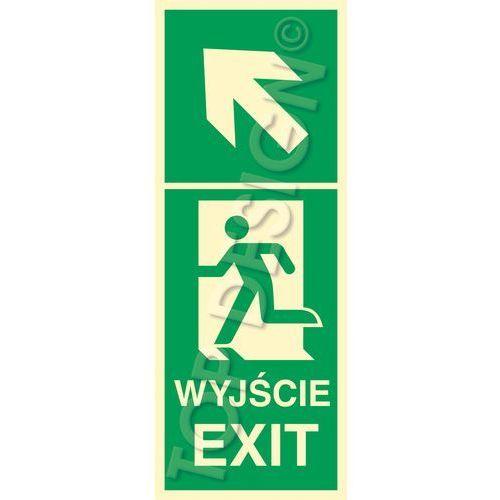 Kierunek do wyjścia w lewo w górę lewostronny / left and up to exit left side marki Top design. Najniższe ceny, najlepsze promocje w sklepach, opinie.