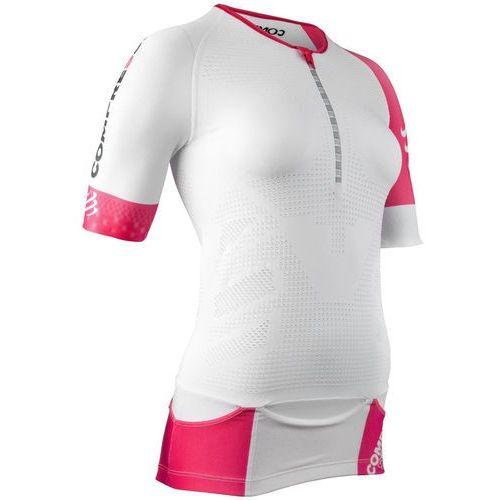 triathlon postural aero kobiety biały m 2018 pianki do pływania marki Compressport