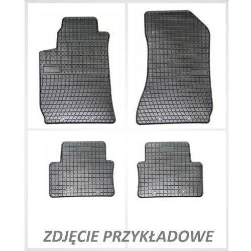 Dywaniki gumowe czarne z kompletem stoperów - toyota yaris iii od 2012 marki Frogum